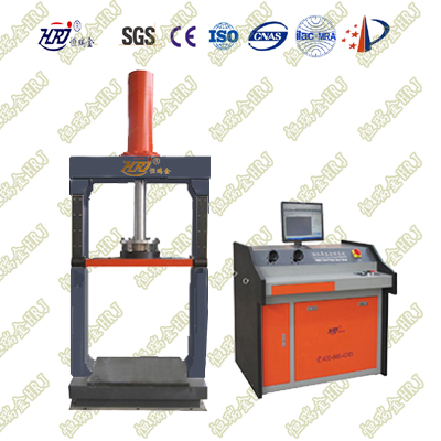 VDC-300C Computer Ventilating Duct / Exhaust Duct Compression Testing Machine