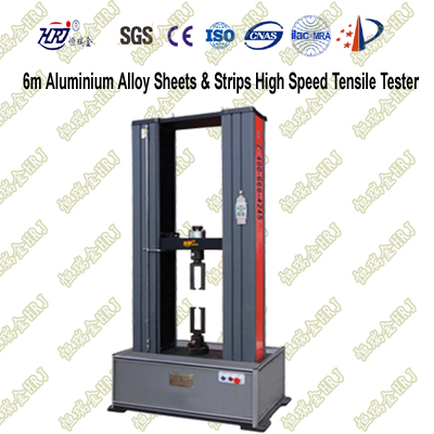 6m/min Aluminium Alloy Sheets and Strips High Speed Tensile Tester