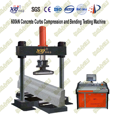 600kN Concrete Curbs Compression and Flexure Testing Machine
