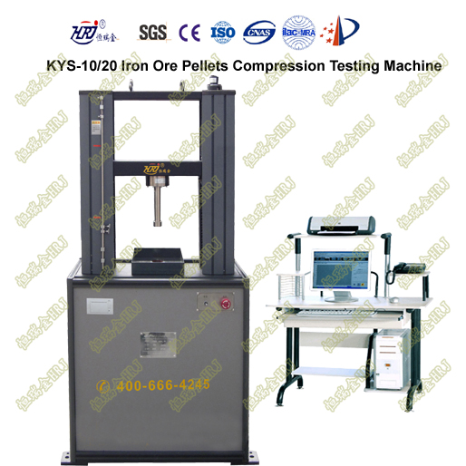 KYS-10/20 Digital Iron Ore Pellets Compression Testing Machine