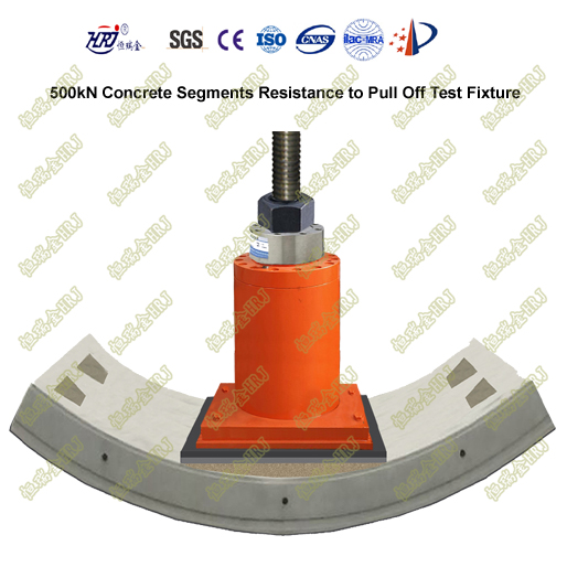 500kN Concrete Segments Resistance to Pull Off Test Fixture