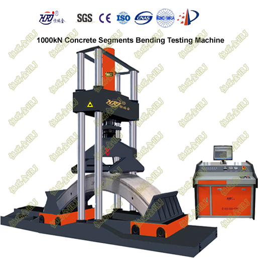 1000kN Reinforced Concrete Segments Bending Testing Machine