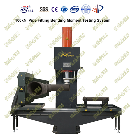 100kN Pipe Fittings Bending Moment Testing System