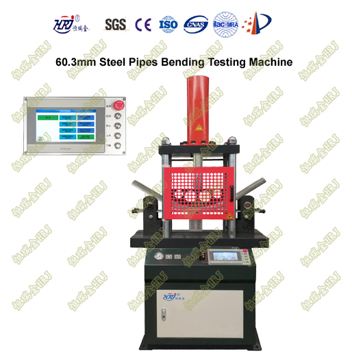 60.3mm Steel Pipes Bending Testing Machine