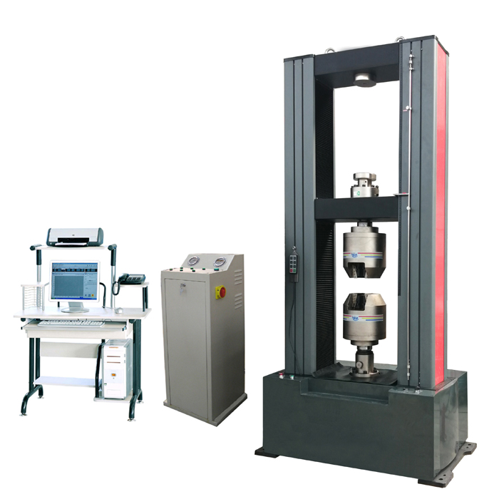 WDW-Y200/Y300 Electronic Universal Testing Machine (Hydraulic Clamps)