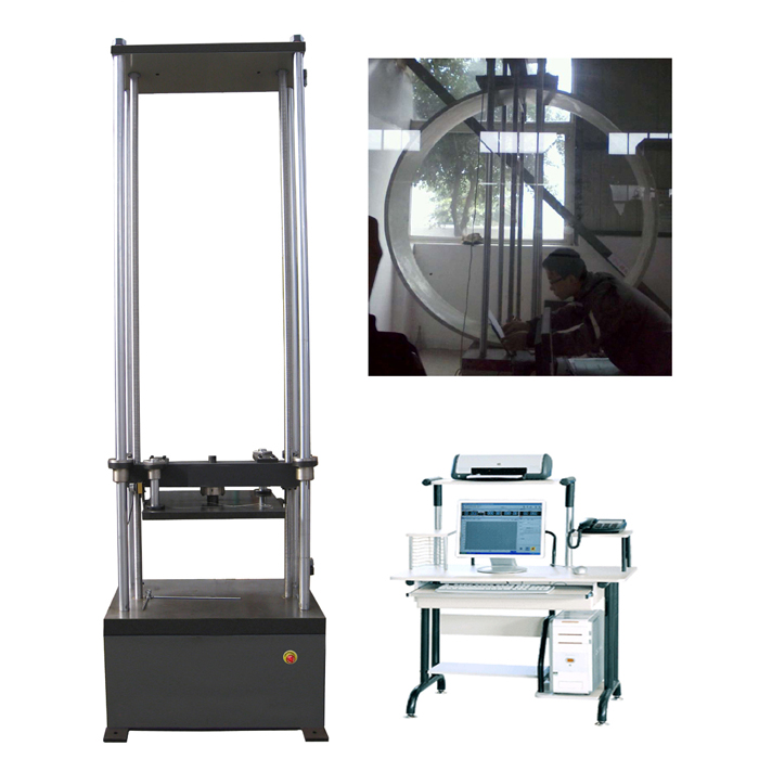 WDW-20R/50R/100R 3m Ring Stiffness and Flexibility Testing Machine