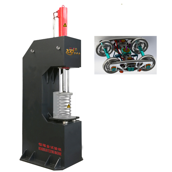 100kN Steel Helical Spring Compression Testing Machine