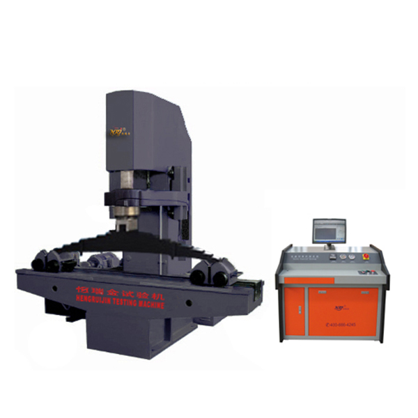 Automobile Leaf Spring Compression Testing Machine